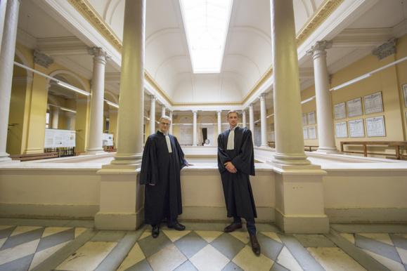 Christophe Lèguevaques (à g.) et Romain Sintès (à dr.)