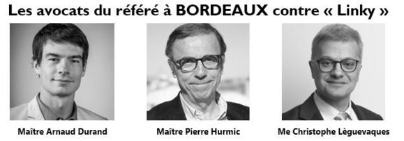#Bordeaux #Linky : La Justice saisie en référé devant le TGI de Bordeaux par plus de 150 citoyens
