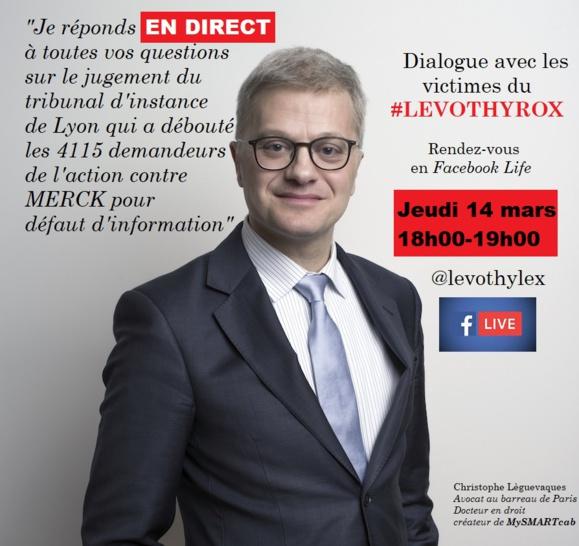 #Levothyrox : dialogue en direct avec les malades