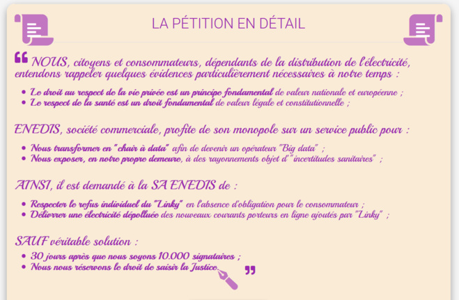 Contre #LINKY : lancement de la pétition d'action collective