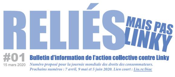 A l'occasion de la journée Mondiale des droits des consommateurs : découvrez le Bulletin d'Information de l'Action Collective contre Linky - BIAC #1