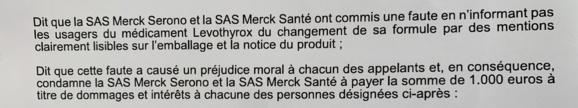 """LEVOTHYROX : reportage d'Euronews sur la victoire """"historique"""" devant la Cour d'appel de Lyon"""
