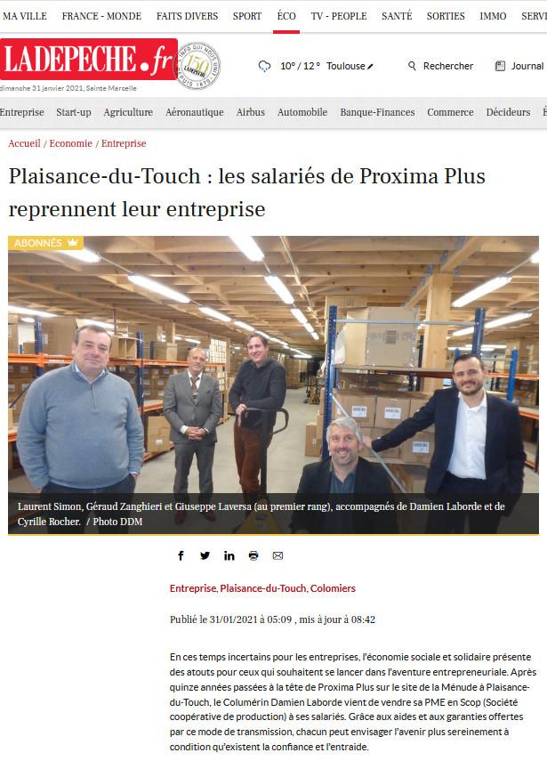 Nouvelle cession d'une entreprise à une SCOP réalisée par METIS AVOCATS