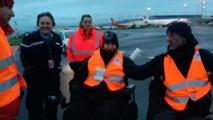 HANDI SOCIAL et 16 personnes à mobilité réduite face à 4 professionnels du transport discriminatoire : AEROPORT TOULOUSE BLAGNAC, AIRBUS, AIR FRANCE et SNCF