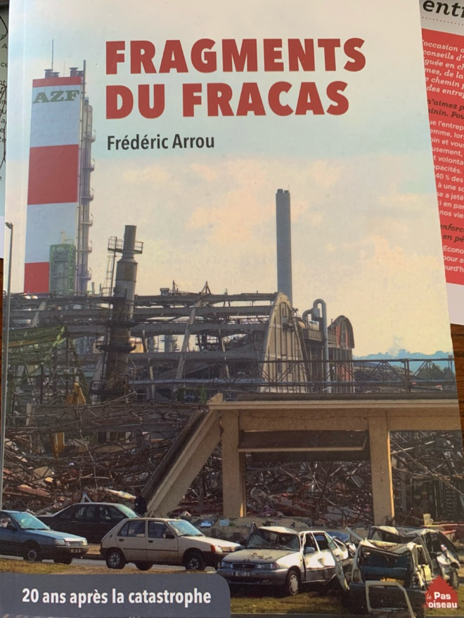 AZF - Frédéric Arrou (association des sinistrés) parle de mon travail