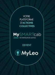Mysmartcab.fr devient MYLEO.LEGAL