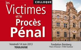 """Conférence """"Les victimes et le procés pénal"""""""