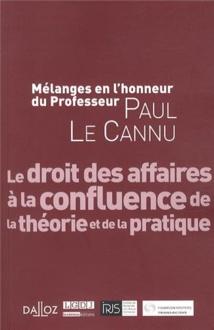 Nouvelle acquisition dans la la bibliothèque du cabinet : Mélanges en l'honneur du professeur Paul LE CANNU
