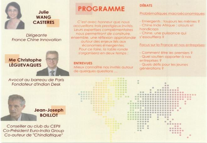 Economie des marchés émergents (Sciences Po Toulouse 1er avril 2015)