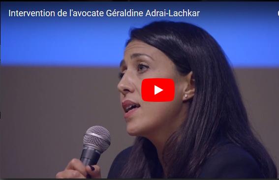 #LEVOTHYROX - Intervention de Me Géraldine ADRAI-LACHKAR - MARSEILLE - mardi 28 novembre 2017 à l'ALCAZAR