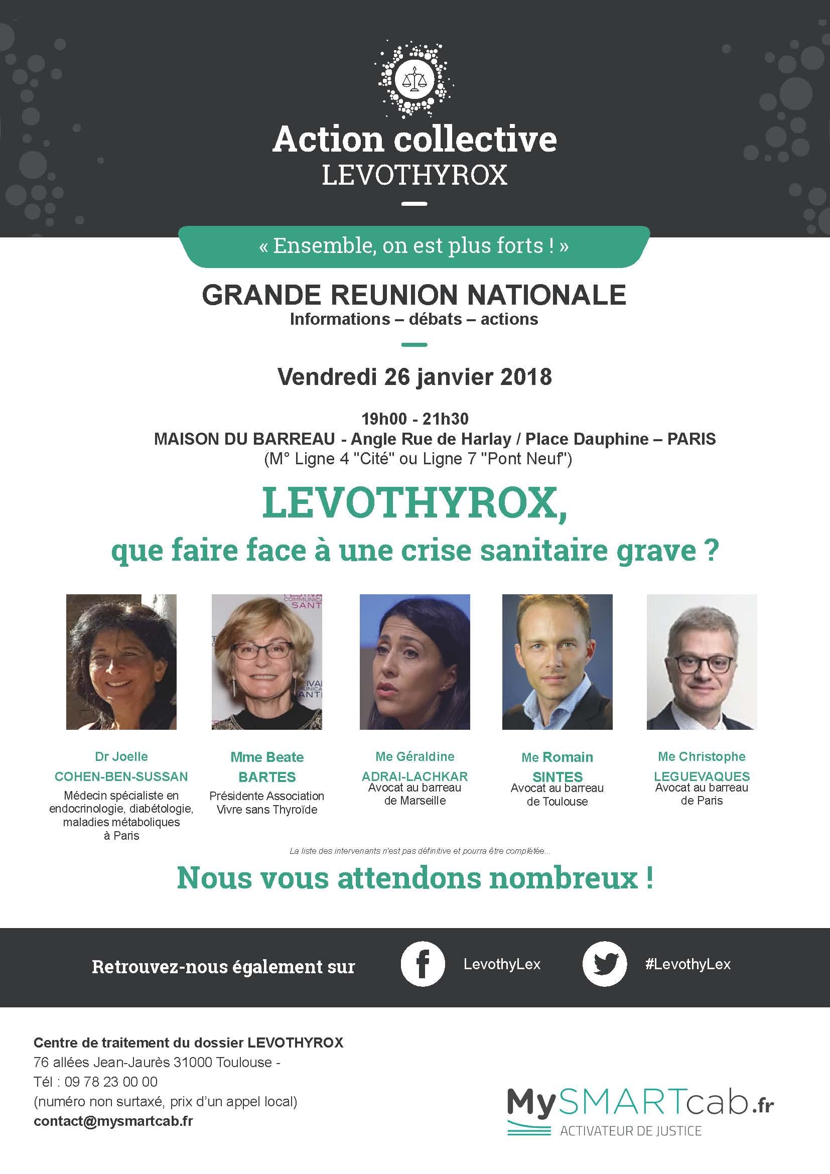 #LEVOTHYROX - Madame la ministre de la Santé, venez rencontrer les malades en direct et sans filtre !