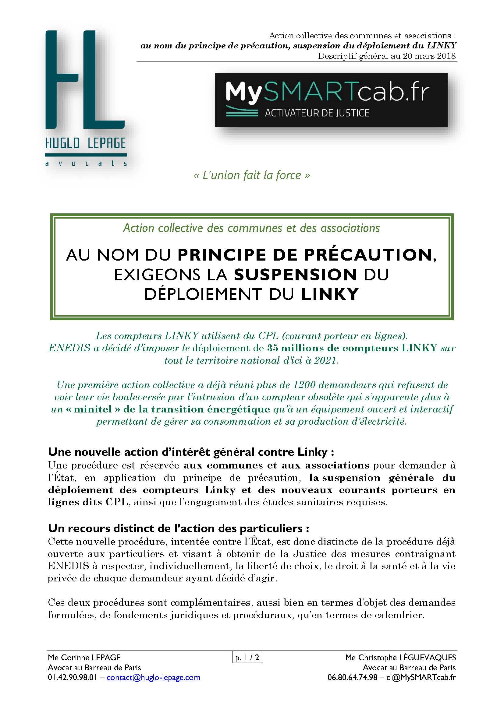 #LINKY : au nom du principe de précaution, exigeons la suspension du déploiement des compteurs Linky
