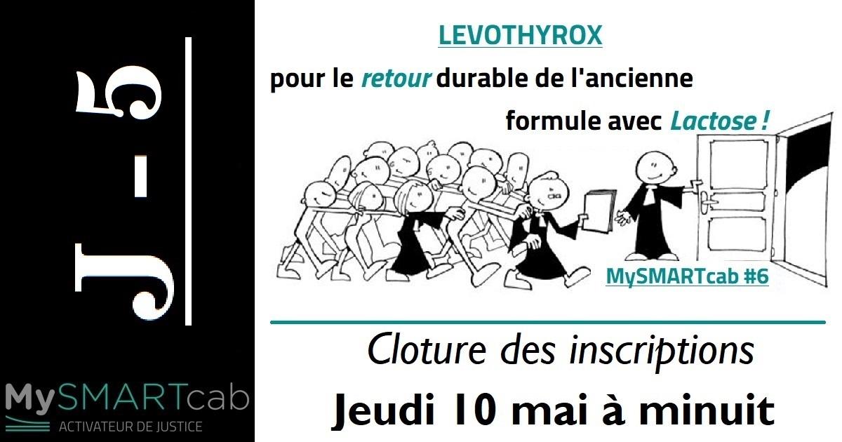 """Cliquez sur l'image pour rejoindre l'action collective """"Retour du lévothyrox avec lactose"""""""