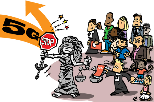 5G : le recours contre l'attribution des enchères a été déposé