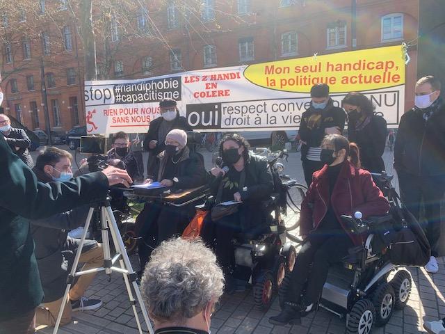 Je suis fier d'avoir défendu 16 prévenus en situation de handicap ...