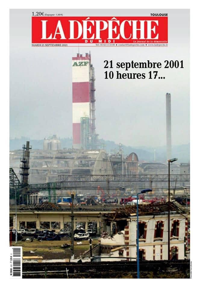 AZF - 21 septembre 2001 - 10h17. Le combat contre le mensonge continue