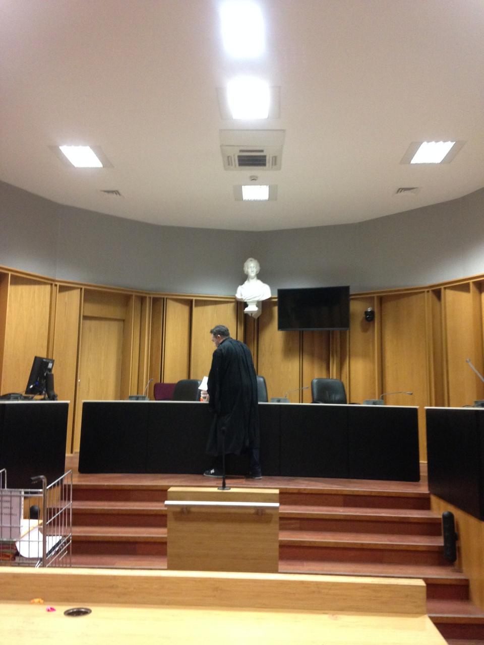 Romain Sintès a prêté serment d'avocat devant la Cour d'appel de Toulouse
