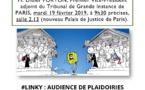 #LINKY : audience de plaidoirie TGI Paris mardi 19 février 2019 9h30