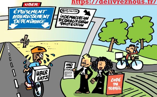UBER : requalification du contrat de partenariat en contrat de travail, la cour de cassation persiste et signe !