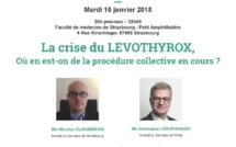 #LEVOTHYROX - Réunion d'informations à #Strasbourg -  mardi 16 janvier 2018