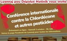 "#Chlordecone : conférence internationale ""virtuelle"" - Samedi 3 octobtre 2020 9h-12h (heure des Antilles)"