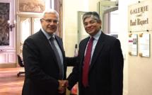 Venue de Son Excellence l'Ambassadeur d'Inde en visite officielle à Toulouse