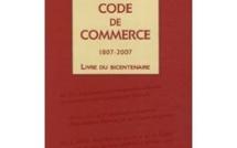 """Intervention lors du colloque """"Bicentenaire du Code de commerce"""" 1807-2007"""