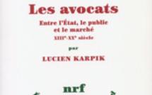 """""""Les avocats"""" de Lucien Karpik, nouvelle acquisition dans la bilbliothèque du cabinet"""